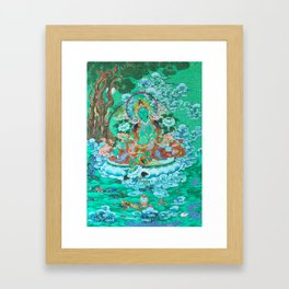 Green Tara Framed Art Print