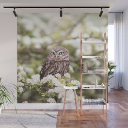 Chouette nature Wall Mural
