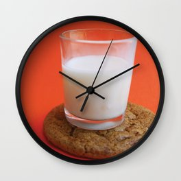 Cookie as a Coaster (Alternative Look) Wall Clock