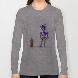 Violet Blesses the Rains Down in Africa Long Sleeve T-shirt