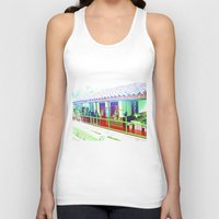 colombia Tank Tops featuring Colombia Coffee Park. by Alejandra Triana Muñoz (Alejandra Sweet