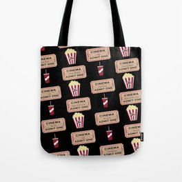 Let's Go to the Movie theatre Tote Bag