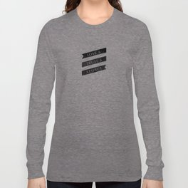 Three Words Mean A lot Long Sleeve T-shirt
