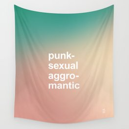 PUNKSEXUAL AGGROMANTIC Wall Tapestry