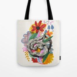 Fancy Snake Tote Bag