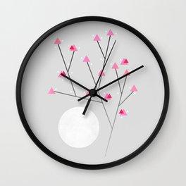 Cherry Blossom / In memory of Mackenzie Wall Clock