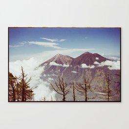 Guatemalan Volcanos Canvas Print
