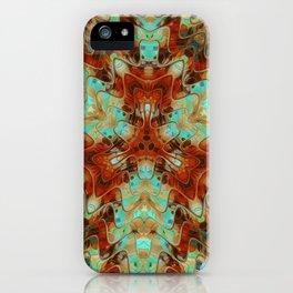 Scifi Rustic Geometric iPhone Case