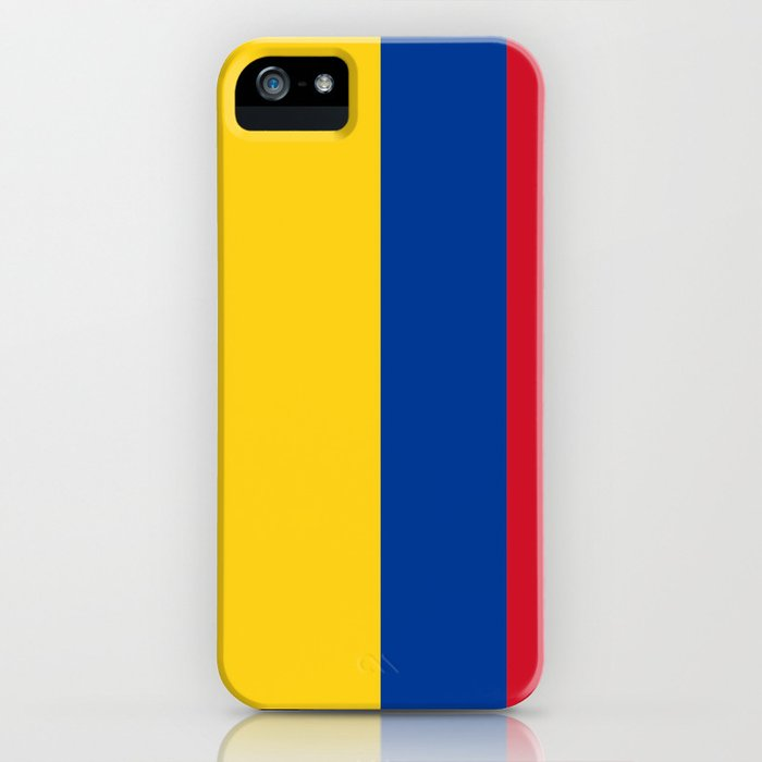 Flag of Colombia-Colombian,Bogota,Medellin,Marquez,america,south america,tropical,latine america iPhone Case