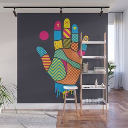 Heavy Handed Wall Mural
