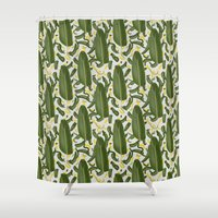 dance Shower Curtains featuring Dance by Akwaflorell