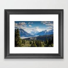 Mountain Landscape # sky Framed Art Print