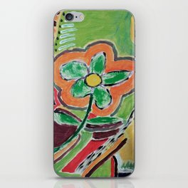""" the flower "" iPhone Skin"