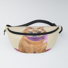 Red cat Fanny Pack