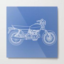 Moto Guzzi Metal Print
