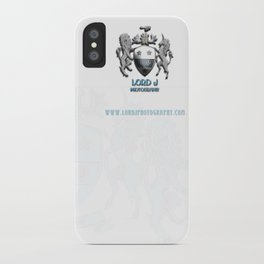 Lord J Logo iPhone Case