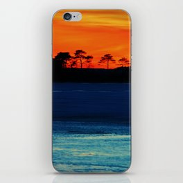 Frozen Glow iPhone Skin