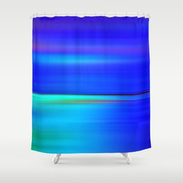 Night light abstract Shower Curtain