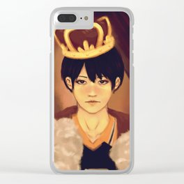 King of the Court Clear iPhone Case