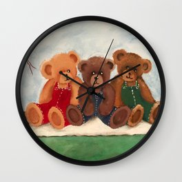 A Day At The Park Wall Clock