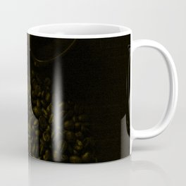 Espresso filter and coffee beans tint Coffee Mug