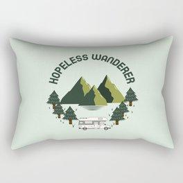 Hopeless wanderer - Vanlife graphic 3 Rectangular Pillow