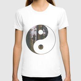 Yin Yang Forest T-shirt