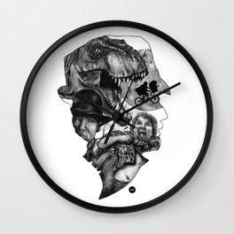 The art of Spielberg Wall Clock