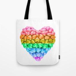 LGBT Heart, LGBT pride, LGBT pride heart, LGBT Wedding gift, Love poster, Love heart, Love forever Tote Bag