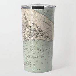 Vintage Map of Provincetown MA (1892) Travel Mug