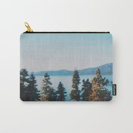 Turquoise colors of Lake tahoe  Carry-All Pouch