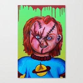 Chucky vs. Chuckie Canvas Print