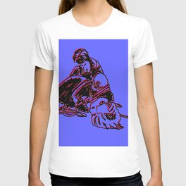 Unbounding - colored, from an Urban Sketching Point of View T-shirt