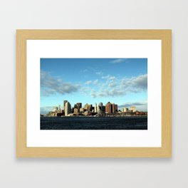 Beantown Framed Art Print