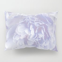 Flower Bouquet In Pastel Blue Color - #society6 #buyart Pillow Sham