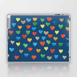 hearts hearts hearts Laptop & iPad Skin