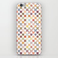 quilt iPhone & iPod Skins featuring Quilt by Anh-Valérie