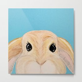 Disapproving Lop Metal Print
