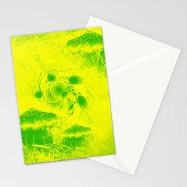 Radioactive mushroom landscape Stationery Cards