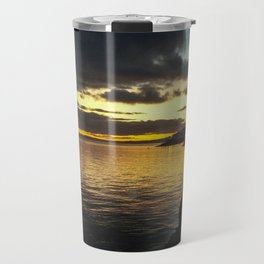 Moville Sunset December 2017 Travel Mug