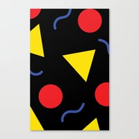 90s Canvas Prints featuring 90s  by kellydelrey