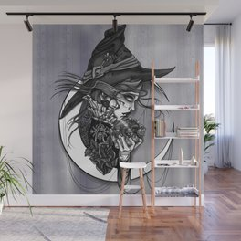 Visions of the witch Wall Mural