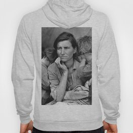 Migrant Mother Great Depression Hoody