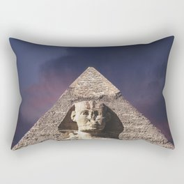 The Sphinx Rectangular Pillow