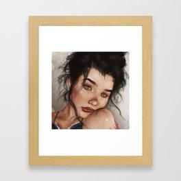 Tell Me I'm Pretty Framed Art Print