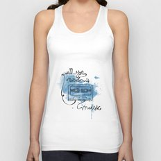 Music's all you need Unisex Tank Top