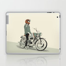 The Woman Rider Laptop & iPad Skin