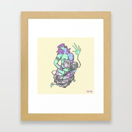 Karmagasm Framed Art Print