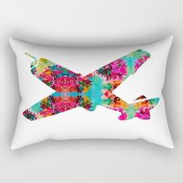 avion fleur 5 Rectangular Pillow