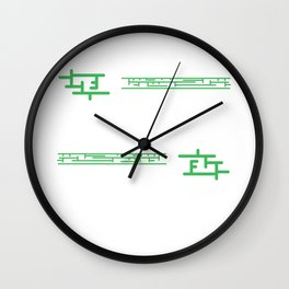 I Write the Beast Code tee design for everybody. Awesome gift this holiday for your friends too!  Wall Clock